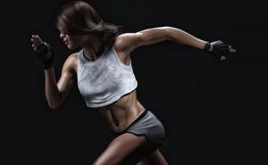 Athletic Girl Running