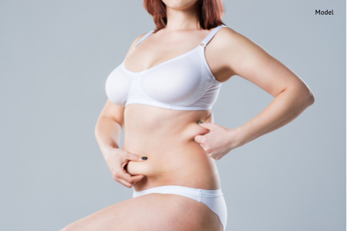 woman with fat abdomen, overweight female body-img-blog